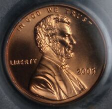 2005 Memorial Cent - PCGS MS67 RED (SATIN FINISH)