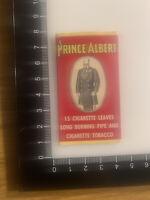 VINTAGE PRINCE ALBERT CRIMP CUT 15 CIGARETTE LEAVES ROLLING PAPERS
