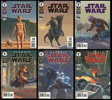 Classic Star Wars A Long Time Ago Digest Trade Paperback set 1-2-3-4-5-6 TPB New