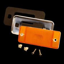 1970 - 1977 Ford Bronco Amber Side Marker & Chrome Bezel Kit *FREE 1-3 DAY SHIPP
