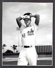 Johnny Glass  WPB EXPOS  UNSIGNED  7-3/4 x 9-1/2  B & W ORIGINAL STAFF PHOTO #2