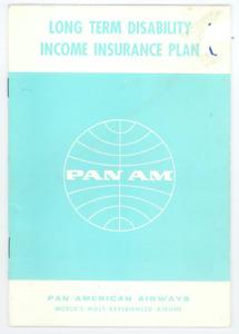 Pan American Airlines Booklet - Pan Am PAA Vintage 1967 Airline Worker Brochure