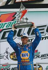 Michael WALTRIP SIGNED Autograph Photo AFTAL COA Nascar Daytona Winner Florida