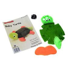 Minicraft Mini Kit Soft Toy Bear Making kit Ready To Sew - Tk136 Baby Turtle