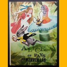 ALICE AU PAYS DES MERVEILLES Lewis Carroll José Luis Macias. S. 1974