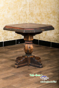 Voglauer Anno 1700 Spruce Antique Side Table Cottage Sofa Table Solid Wood