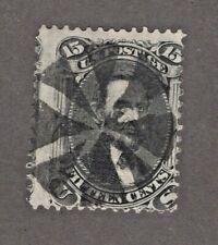 #98 Us Stamp Used Beautiful Cancel! Cv. $275