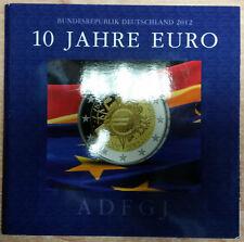 Germania 2 EURO MONETA COMMEMORATIVA 2012 A D F G J memorizzare freschi - 10 anni Euro