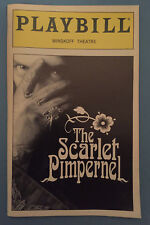 THE SCARLET PIMPERNEL Playbill (1998) Christine Andreas + Terrence Mann