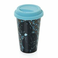 Me to You Travel Mug Silicone Lid Blue - Tatty Teddy Bear