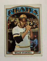 1972 Topps Willie Stargell # 447 Baseball Card Pittsburgh Pirates HOF