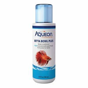 Aqueon Betta Bowl Plus 4oz Water Conditioner Neutralizes Chlorine Aquarium