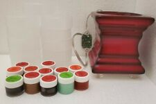 GOLD CANYON BUNDLE  RED Footed (WARMER,  SCENTS SAMPLE + EMPTY PLASTIC PODS)