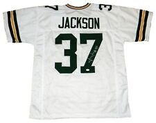 JOSH JACKSON AUTOGRAPHED SIGNED GREEN BAY PACKERS #37 WHITE JERSEY JSA