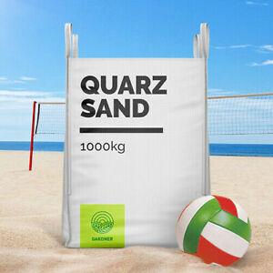 Quarzsand 0/4 im BigBag, 250kg-1000kg, weiss, Beachsand, Spielsand, inkl. Versan