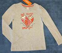 NWT Gymboree Valentine's Day Girls Owl Always Love You Long Sleeve Tee, Size 6