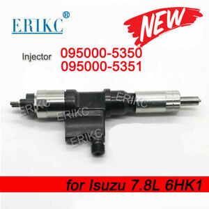 ERIKC Common Rail Diesel Injector 095000-5350 095000-5351 for Denso Isuzu 6HK1