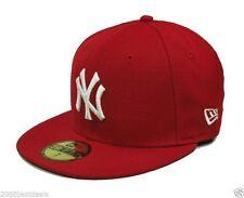 New Era 59Fifty Cap MLB New York Yankees Scarlet Red Hat