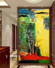 HH#256 Modern Art Decor Hand-painted abstract oil painting Tree No Frame 36""