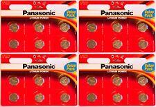4x Panasonic CR2016-C6 Litihium 3V Coin Cell CR2016 Batteries (24 Batteries)