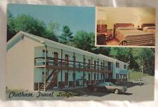 Chatham Travel Lodge NY Exterior Interior View Advertising Postcard