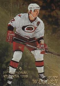 1998-99 Be A Player National Atlanta Gold #26 Glen Wesley