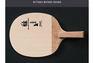 Nittaku Miyabi Round PenHold Table Tennis,Ping Pong Racket,Made in Japan