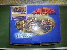 THE COLLECTOR SHOW CASE ZULU WARS CANNON CREW IN BOX AND 2 ZULUS.