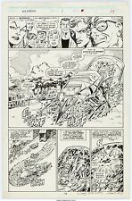 Mark Bagley NEW WARRIORS 1 pg 13 ART FROM HISTORIC 1'ST ISSUE -EARLY APP OF MANY