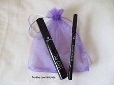 Lot maquillage bio Avril : un mascara noir + un crayon charbon