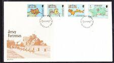 Jersey 1980 Fortresses  First Day Cover