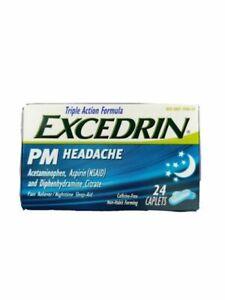EXCEDRIN PM HEADACHE CAPLET 24CT