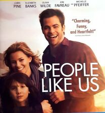 PEOPLE LIKE US ~ Blu-ray & DVD 2 DISC combo pack CHRIS PINE romance SISTER love