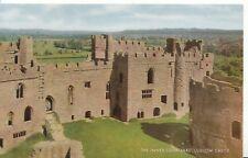 Shropshire Postcard - The Inner Courtyard - Ludlow Castle - Ref ZZ4651