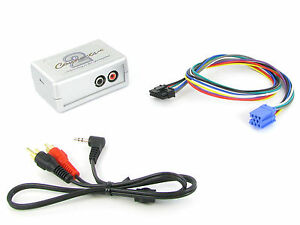 CTVSKX001 Skoda Aux Cable Fabia Octavia 3.5mm Toma de Entrada Radio Ipod MP3