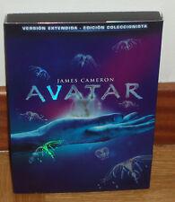 AVATAR VERSION EXTENDIDA COLECCIONISTA 3 DVD NUEVO PRECINTADO (SIN ABRIR) R2