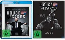 8 Blu-rays * HOUSE OF CARDS - SEASON / STAFFEL 1 + 2 IM SET # NEU OVP <