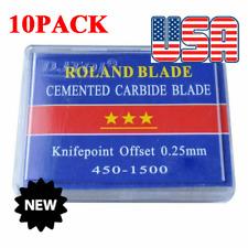 10x 5pcs/pack 45 Degree Small Roland Vinyl Cutter Compatible Blades, N Grade