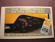 Great Britain Booklet Scott# 150  British Rail  1986 Mint Perfect L3