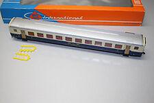 Roco 4238A 4-Achser Personenwagen 2.Klasse BLS blau/beige Spur H0 OVP