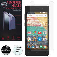 """Bulletproof Glass for Archos 45b Neon 4.5 """" Genuine Glass Screen Protector"""