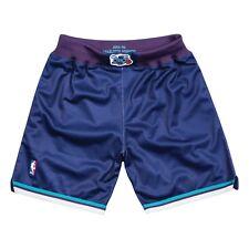 Charlotte Hornets 1994-95 alternativos Mitchell & Ness auténticos pantalones cortos púrpuras