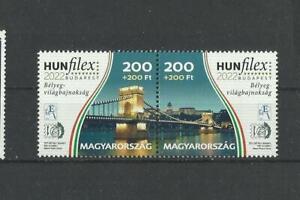 D 2240.Hungary 2021 HUNFILEX 2022 BUDAPEST  Postfrisch   MNH
