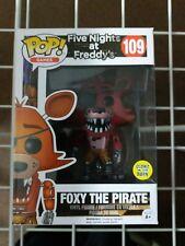 Funko Pop! fünf Nächte Freddys leuchtet im Dunkeln Foxy der Pirat Figur