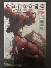 Carnage USA #2 2nd Print Variant 2012 Marvel Comic Book Spiderman Venom