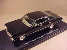 "TRUESCALE #TSM114331 1/43 Diecast Black 1967 Chevrolet Impala ""Supernatural"" Car"