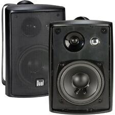 Indoor Outdoor Speakers 3-Way 100Watt Weather Resistant Home Sound Audio System