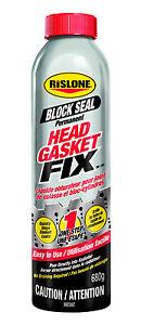 RISLONE HEAD GASKET FIX - SEAL STOPS COOLING PRESSURE LIKE STEEL SEAL + K SEAL