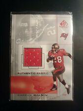 2001 Upper Deck SP Game-Used Warrick Dunn SP Card-Buccs GU Jersey Football