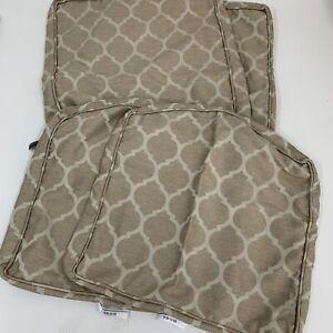 Laurel Oaks CushionGuard Toffee Trellis Dining Chair Slipcover Set (2-Pack)